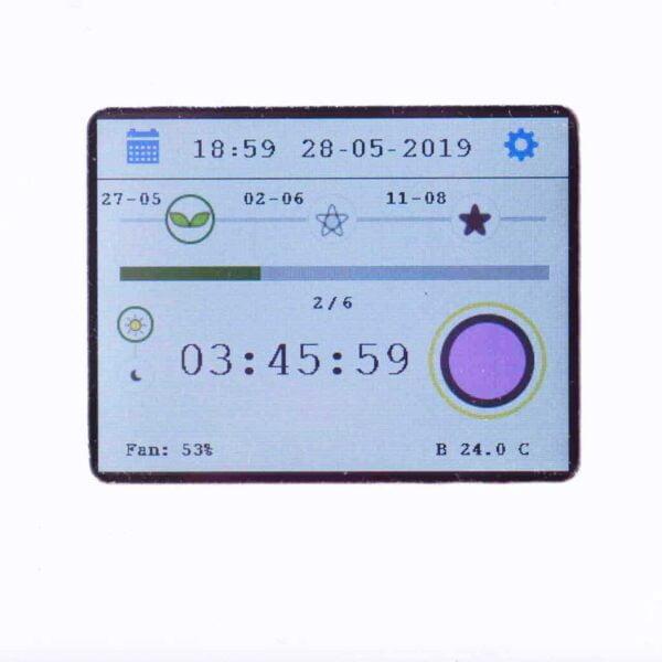 minigrow display dashboard